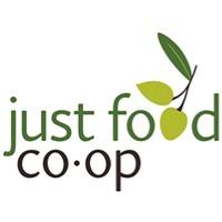 Just Food Co-op  logo.