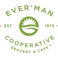 Ever'man Cooperative Grocery & Cafe  logo.