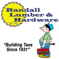 Randall Lumber & Hardware logo.